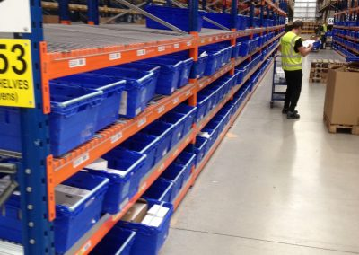 Galvanised Mesh Shelves