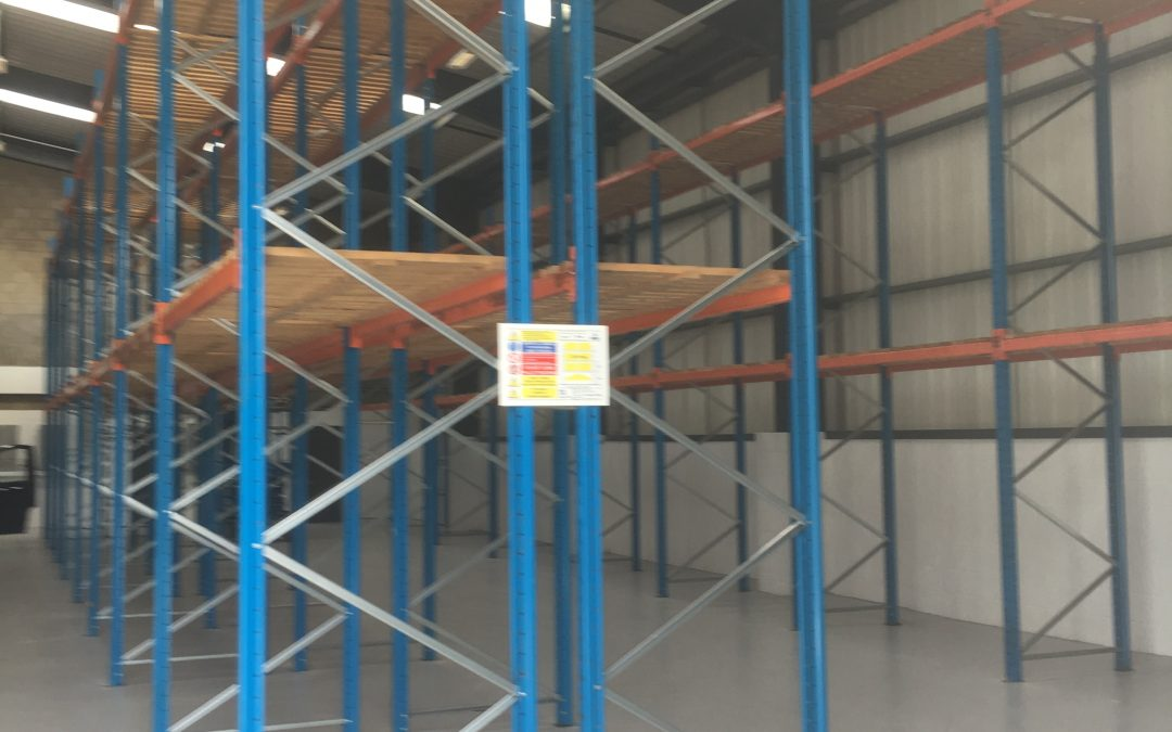 Pallet Racking Installation for a National Bathroom Supplier