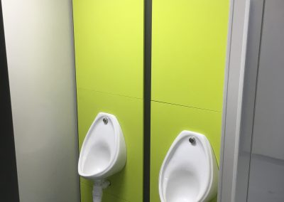 Wall hung toilet panels